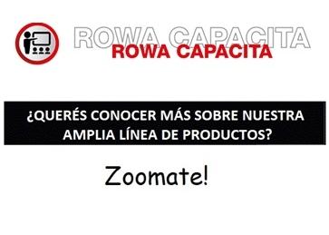 AGENDA JUNIO - ROWA CAPACITA